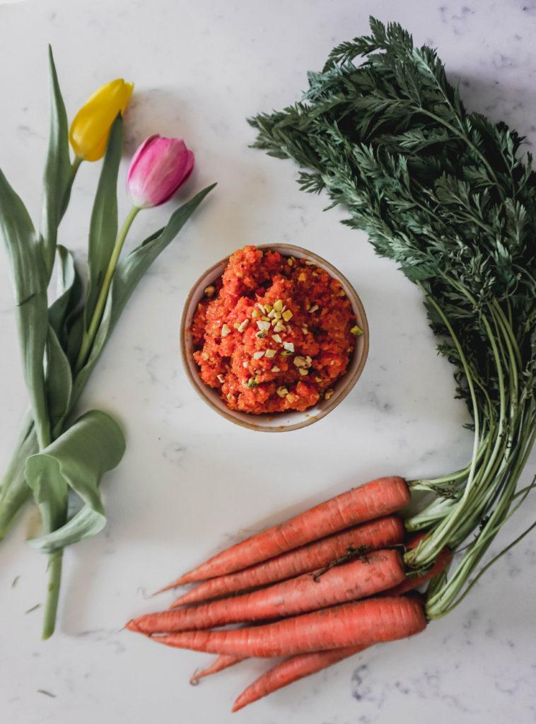 Gajar Ka Halwa Indian Carrot Sweet Pudding