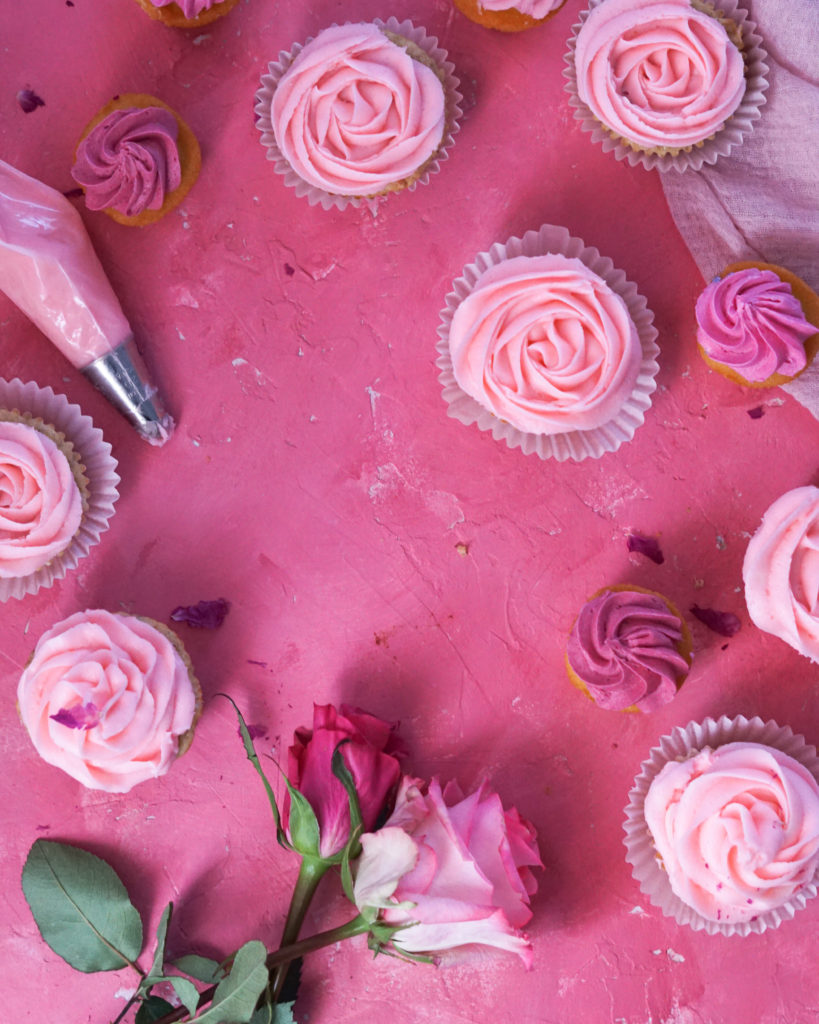 Rosewater Buttercream Frosting