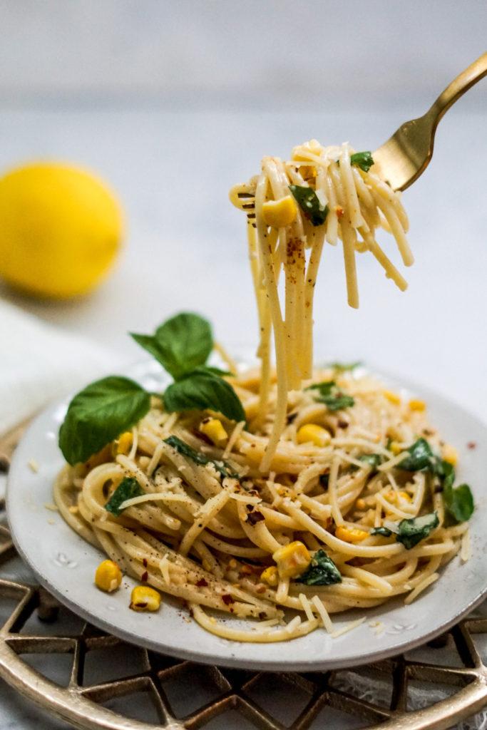 spicy pasta al limone