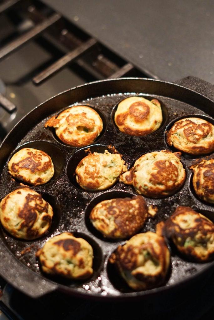 pakora in appe pan