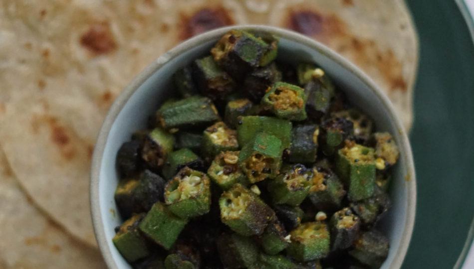 bhinda nu shaak indian okra recipes