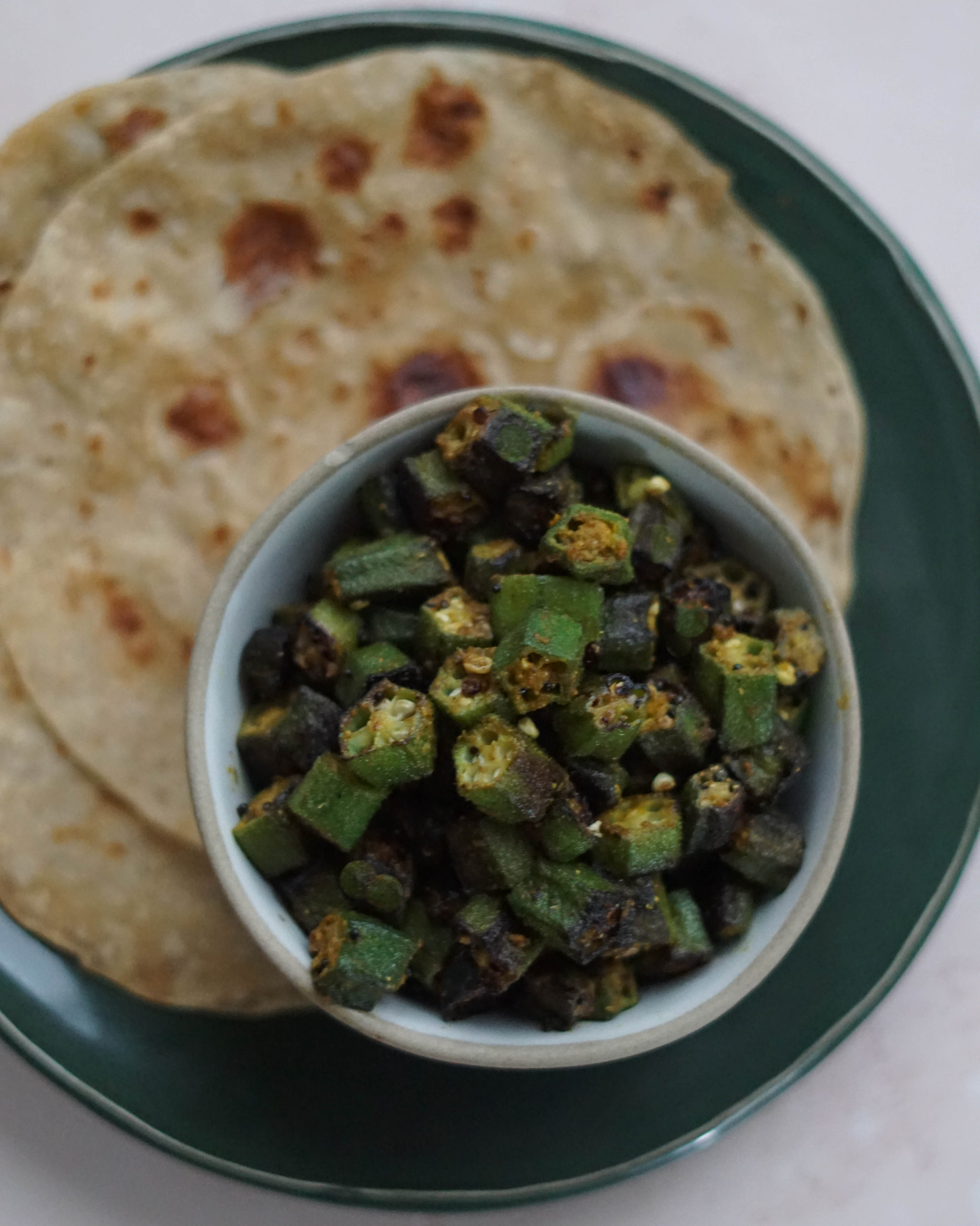 Bhinda Nu Shaak Indian Okra Recipe Some Indian Girl
