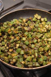 bhinda nu shaak indian okra recipe
