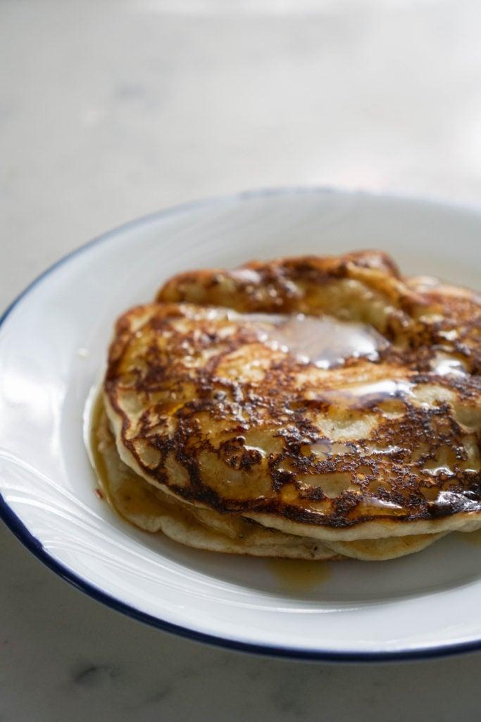 gulab jamun pancake