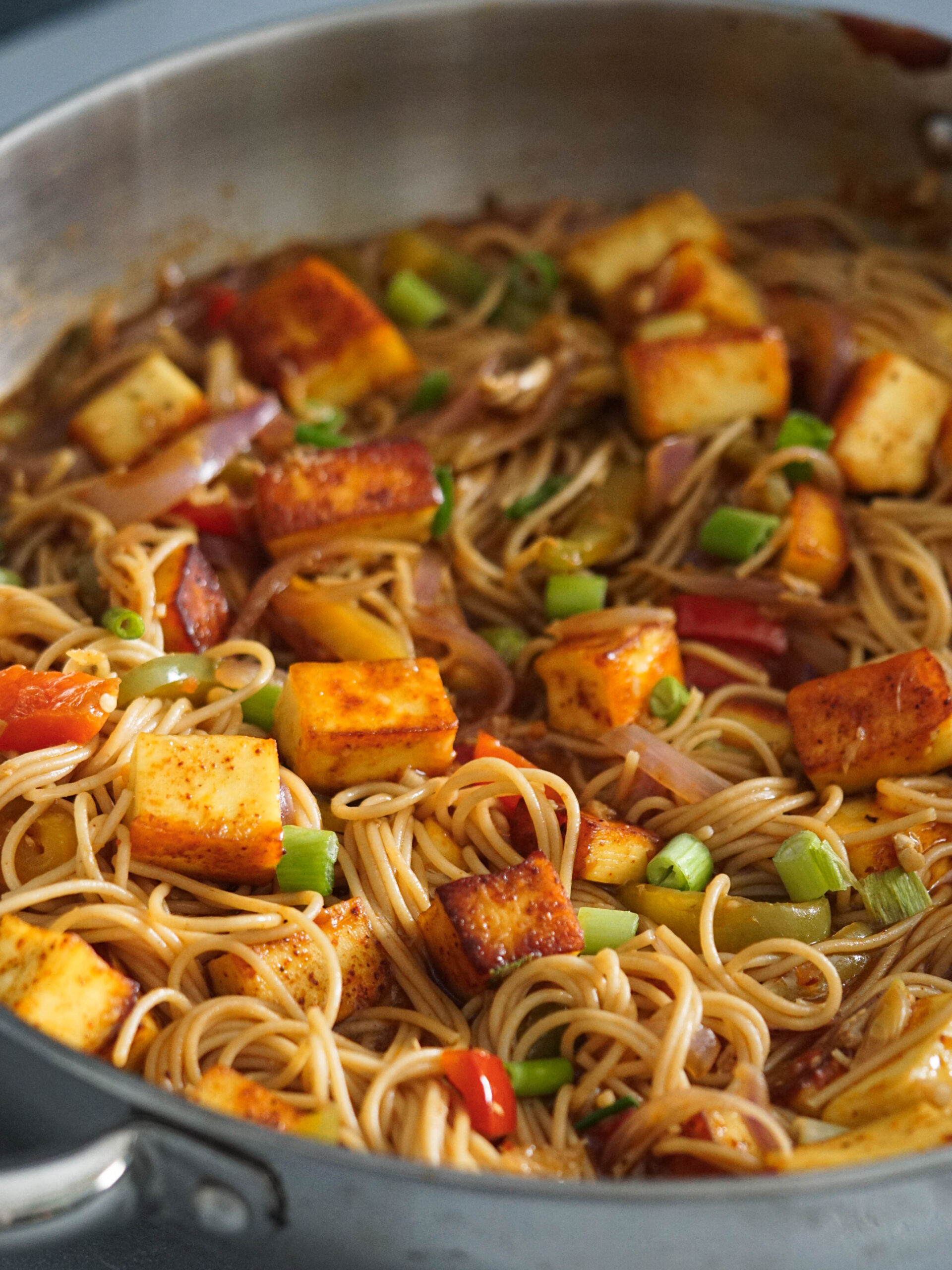 Chilli Paneer Noodles Story