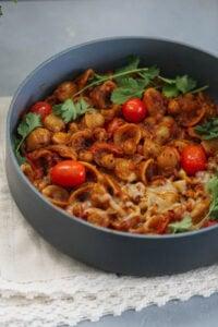 spicy indian pasta